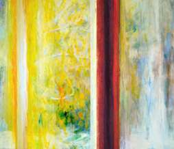 2005, Window VII, oil on canvas, 100 x 140 cm