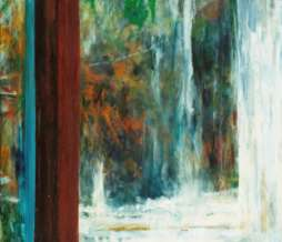 2004, Window I, oil on canvas, 140 x 100 cm