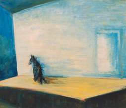 1990, Without title, oil on canvas, 85 x 98 cm