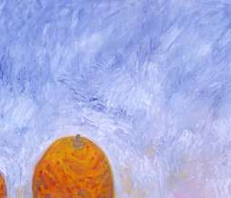 1994, In dulci jubilo I, oil on canvas, 56,5 x 125 cm