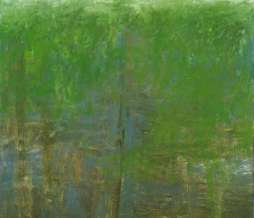1997, Vineyard, oil on canvas, 60 x 40 cm