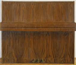1999, Upright Piano III, oil on canvas, 138 x 145 cm