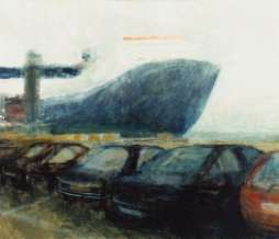 2002, Port V, oil on canvas, 120 x 150 cm