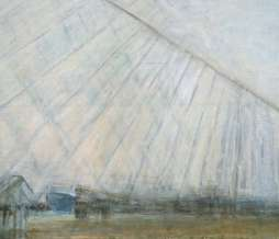 2001, Port III, oil on canvas, 90 x 110 cm