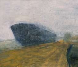 2001, Port I, oil on canvas, 100 x 130 cm