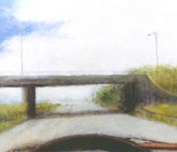 2002, Motorway III, oil on canvas, 115 x 150 cm