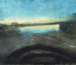 2002, Motorway II, oil on canvas, 70 x 100 cm