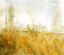 2003, Study of chimneys IV, oil on canvas, 80 x 100 cm