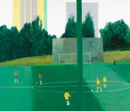 2011, Before the match I, oil on canvas, 160 x 200 cm