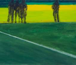 2009, Spectators, oil on canvas, 40 x 60 cm