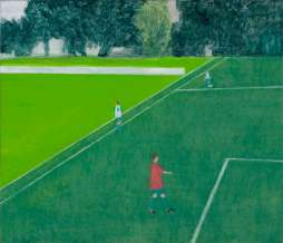 2012, Before the match IV, oil on canvas, 60 x 70 cm